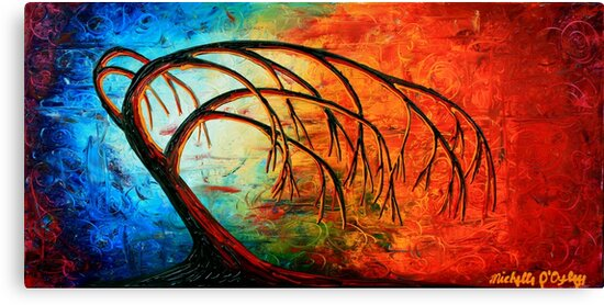 Reaching for Mother Earth by Abstract D'Oyley
