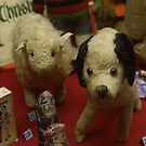much-loved old toy animals by BronReid