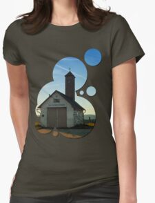 Old traditional firehouse | architectural photography Womens Fitted T-Shirt