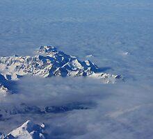 Swiss Alps II. Aerial. 2010 by Igor Pozdnyakov