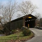 Covered Bridge in Lancaster County, Pennsylvania by Susan Russell