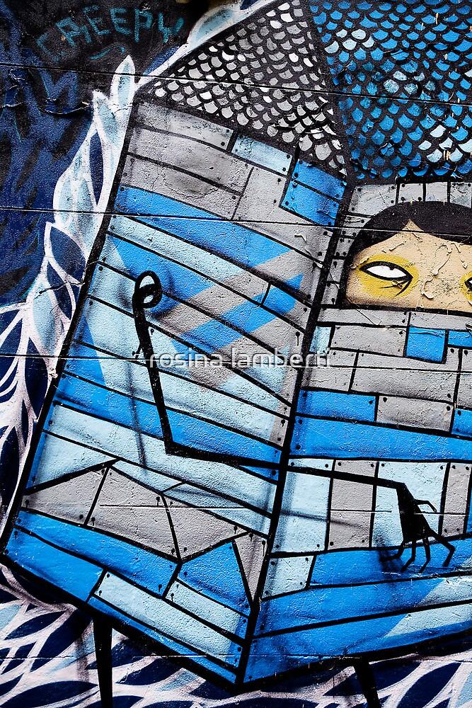Creepy Graffiti by Rosina  Lamberti