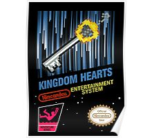 NES Kingdom Hearts Poster