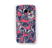 butterfly strawberry pink Samsung Galaxy Case/Skin