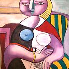 READING - PICASSO Copied by Sonya Smith by Sonya Smith