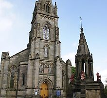 Falkland Parish Church, Falkland, Scotland by BronReid