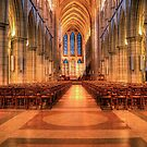 Truro Cathedral II by David Wilkins