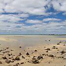 Shallow Beach Pano by Richard Majlinder