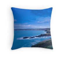Port Gaverne  Throw Pillow