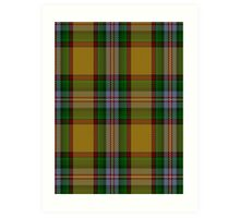 00111 Essex County Tartan  Art Print