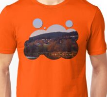 Indian summer sunset at the fishing lake III | waterscape photography Unisex T-Shirt