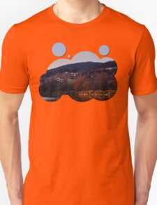 Indian summer sunset at the fishing lake III | waterscape photography T-Shirt