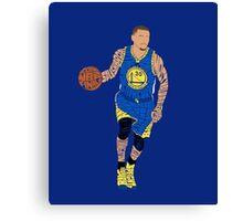 2015 NBA Finals Typography - Golden State Warriors Canvas Print