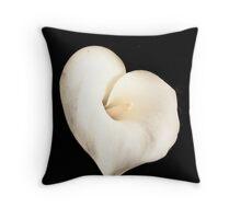 Valentine's Flower Throw Pillow