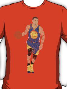 2015 NBA Finals Typography - Golden State Warriors T-Shirt