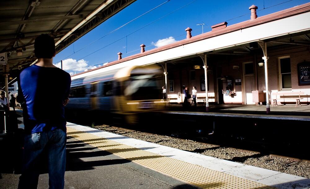 Waiting on Platform 2 by Daniel Peut