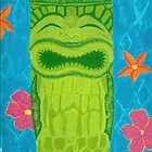 Orchids of Hawaii tiki mug by MonsterRob