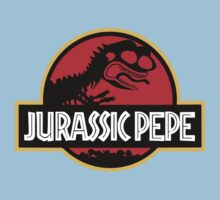 Jurassic Pepe - Pepe the frog Kids Clothes