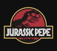 Jurassic Pepe - Pepe the frog Kids Tee
