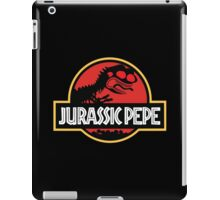 Jurassic Pepe - Pepe the frog iPad Case/Skin