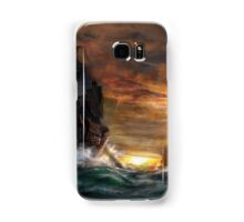 Ships drawn Samsung Galaxy Case/Skin