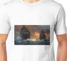 Ships drawn Unisex T-Shirt