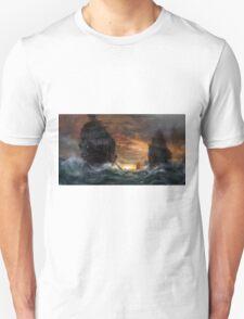 Ships drawn T-Shirt