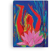 Lotus Love 2010 Canvas Print