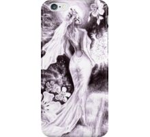 Holly bride iPhone Case/Skin