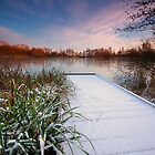 Too cold for fishing by Andrew Leighton