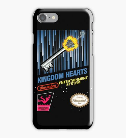 NES Kingdom Hearts iPhone Case/Skin