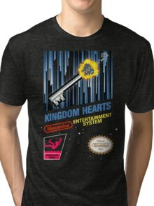 NES Kingdom Hearts Tri-blend T-Shirt