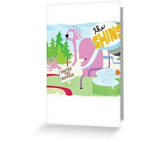 The Shins Monster View Greeting Card