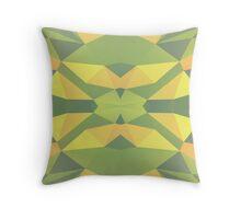 Pistachio Polygonal Pattern Throw Pillow