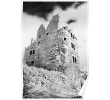 Redhouse Castle, East Lothian, Scotland Poster