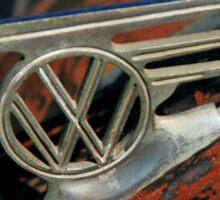 VW emblem - vintage L Sticker