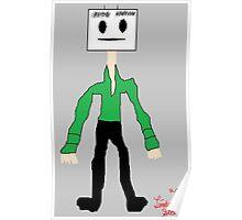 Cube Minion in color Poster