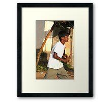 Batsman Framed Print