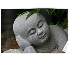 Resting Buddha - Nan Tien Temple Poster