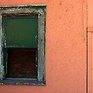 green window/pink wall by Lynne Prestebak