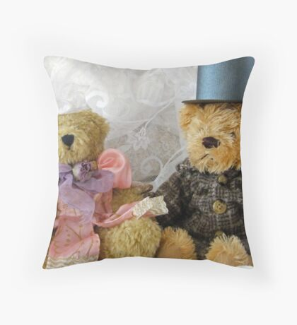 two teds  Throw Pillow