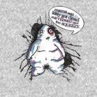 kitty got dead... [Gerty Flabcrust] by Tiffany Atkin