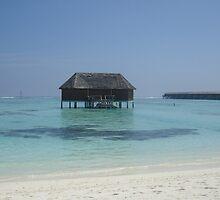 sleep in the ocean of the Maldives, Meeru Island  by Charlie Pallett