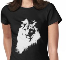 lion t-shirt Womens Fitted T-Shirt