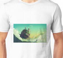Anime floating castle Unisex T-Shirt