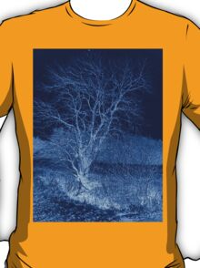 Abstract Blue Tree T-Shirt T-Shirt