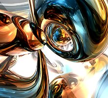 Wine and Spirits Abstract by Alexander Butler