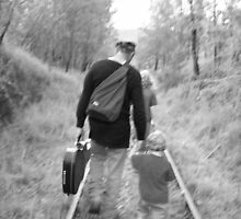 On Track with Dad by mamabel