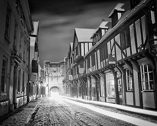 Snow rush this morning by clickinhistory