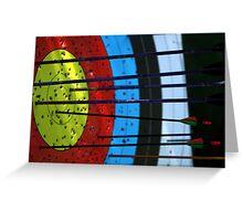 Target shooting - Erina Archery Greeting Card